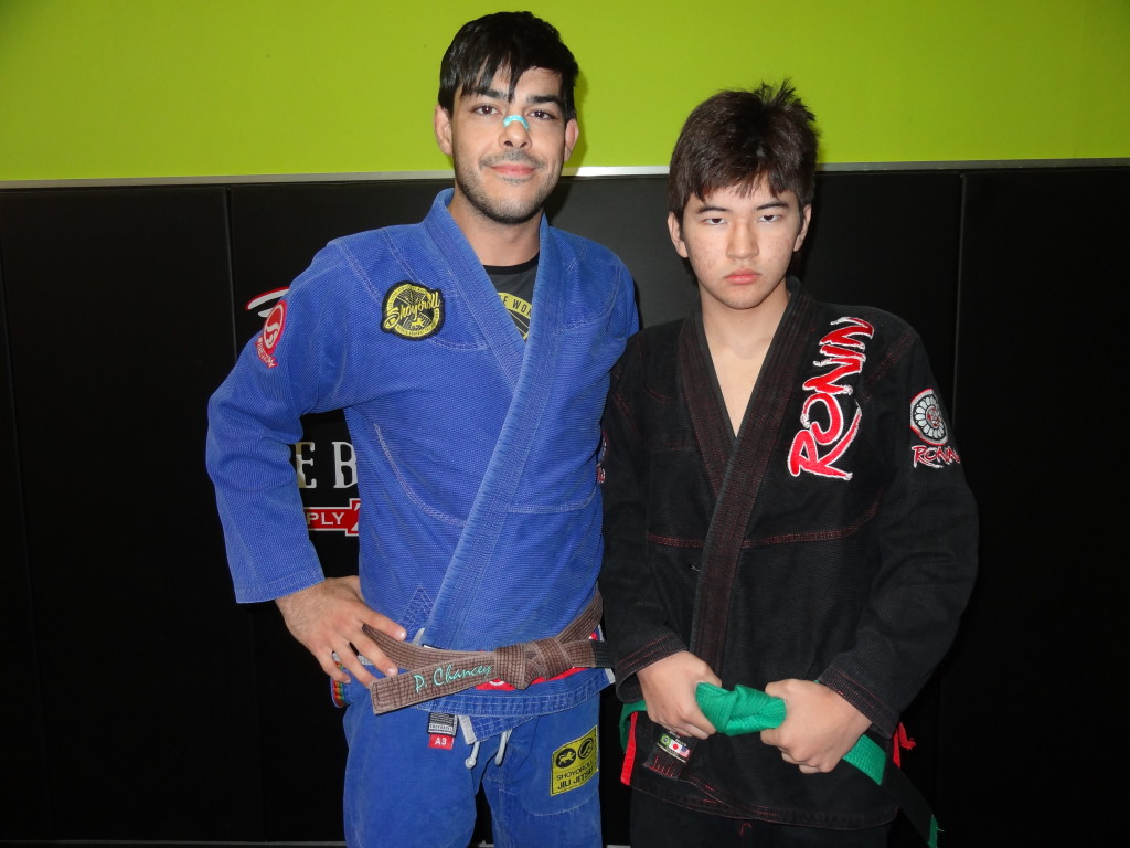 My BJJ instructor's assistance, friend and training partner Patrick Chancey on 12/28/13.