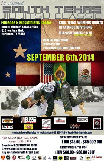 1st Annual South Texas Jiu Jitsu Classic
